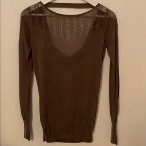 Club Monaco fine knit sweater